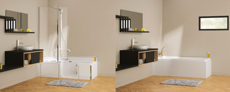 kinedo duo une baignoire pour toute la famille guide artisan. Black Bedroom Furniture Sets. Home Design Ideas